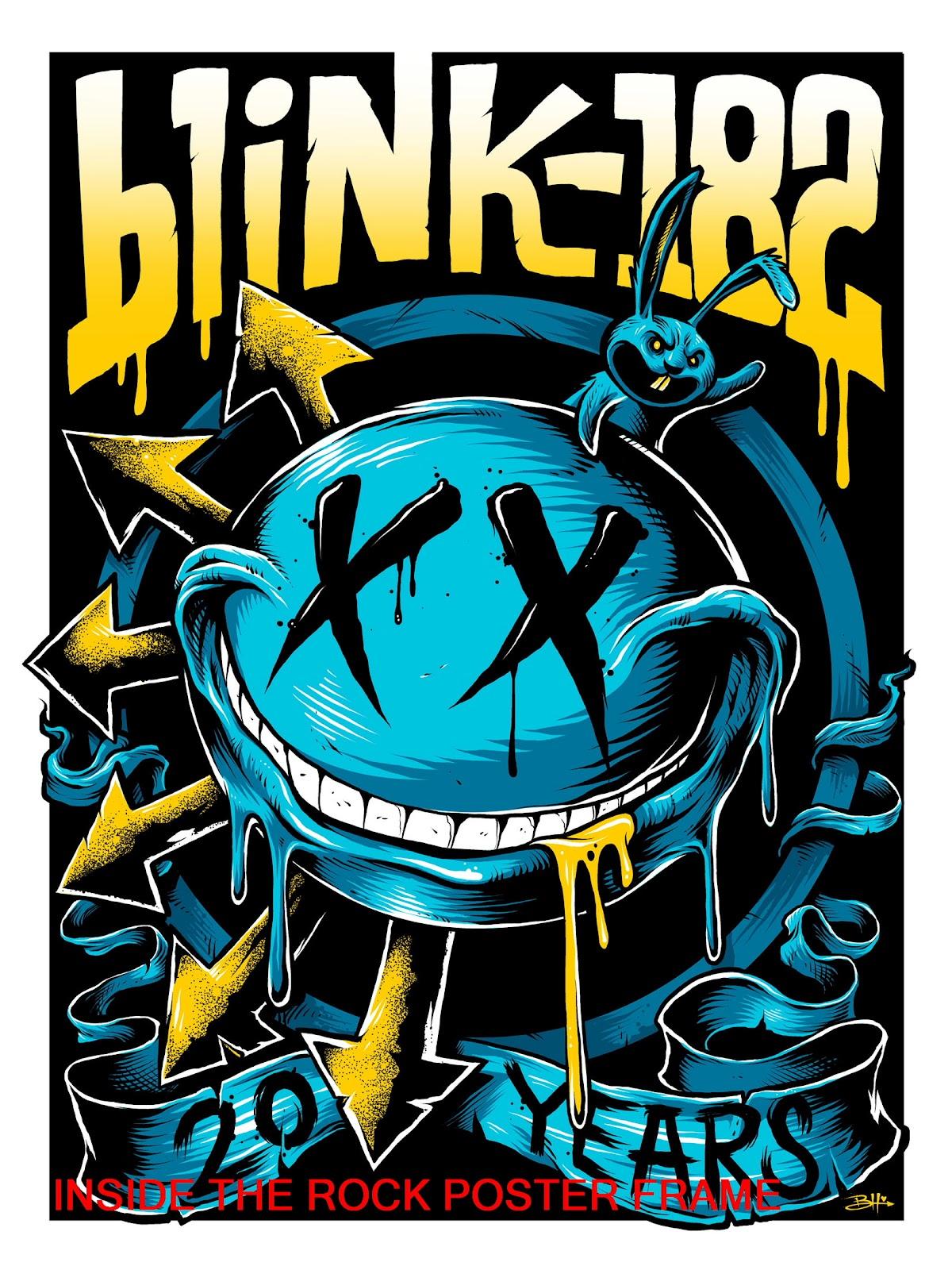 Blink  Tour Poster