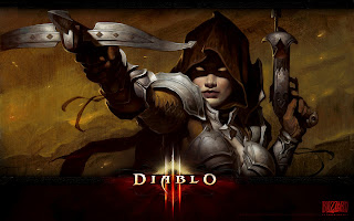 Diablo 3 Game Character Demon Hunter HD Desktop Wallpaper