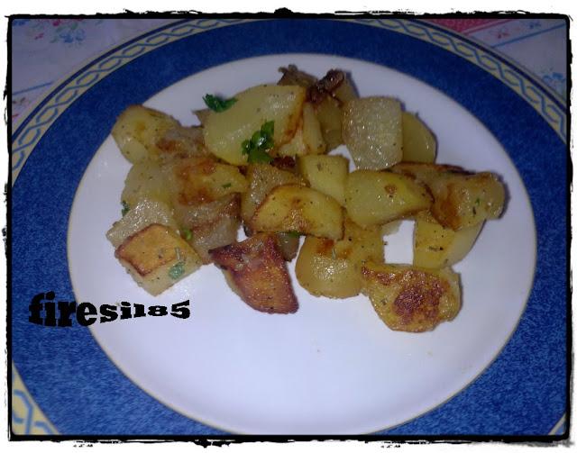 patate in padella con prezzemolo