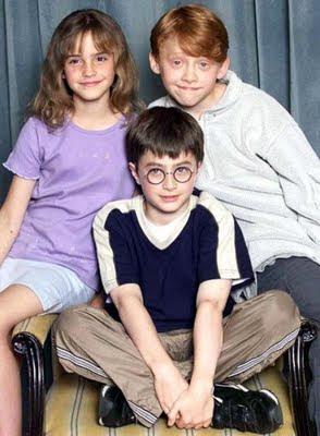 harry potter cast through the years billyinfo1 Evolusi Pelakon Pelakon Filem Harry Potter   Dari Kecil Hingga Dewasa