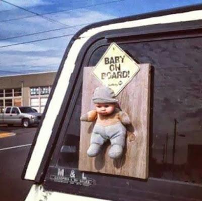Autocollant bébé à bord, l'alternative