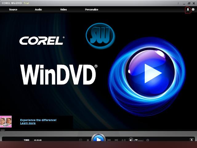 Corel WinDVD 9 - программное обеспечение для воспроизведения DVD-дисков и в