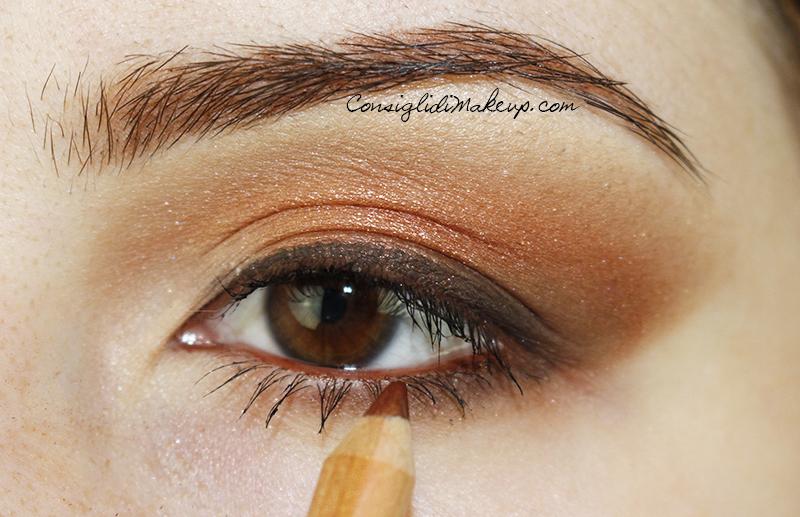Make up occhi fenice duochrome neve cosmetics