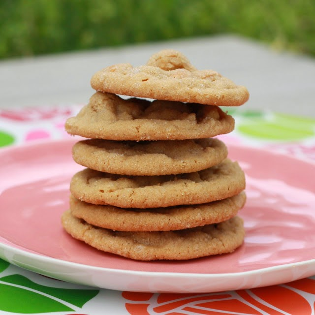 Chewy Peanut Butter Butterscotch Cookies | The Sweets Life