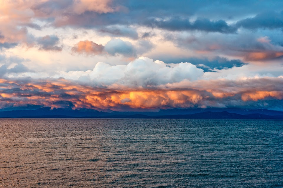 Vancouver Island; Qualicum Beach; Sunset; British Columbia; Sand Pebbles Inn