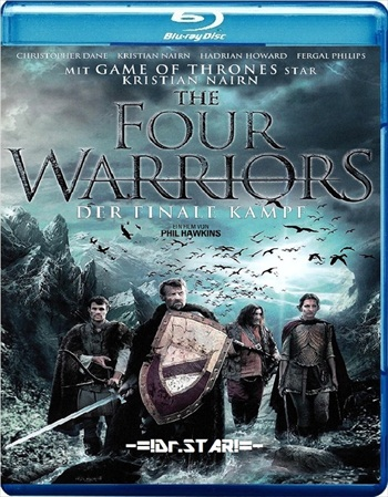 The Four Warriors 2015 Dual Audio Hindi 720p BluRay 750mb