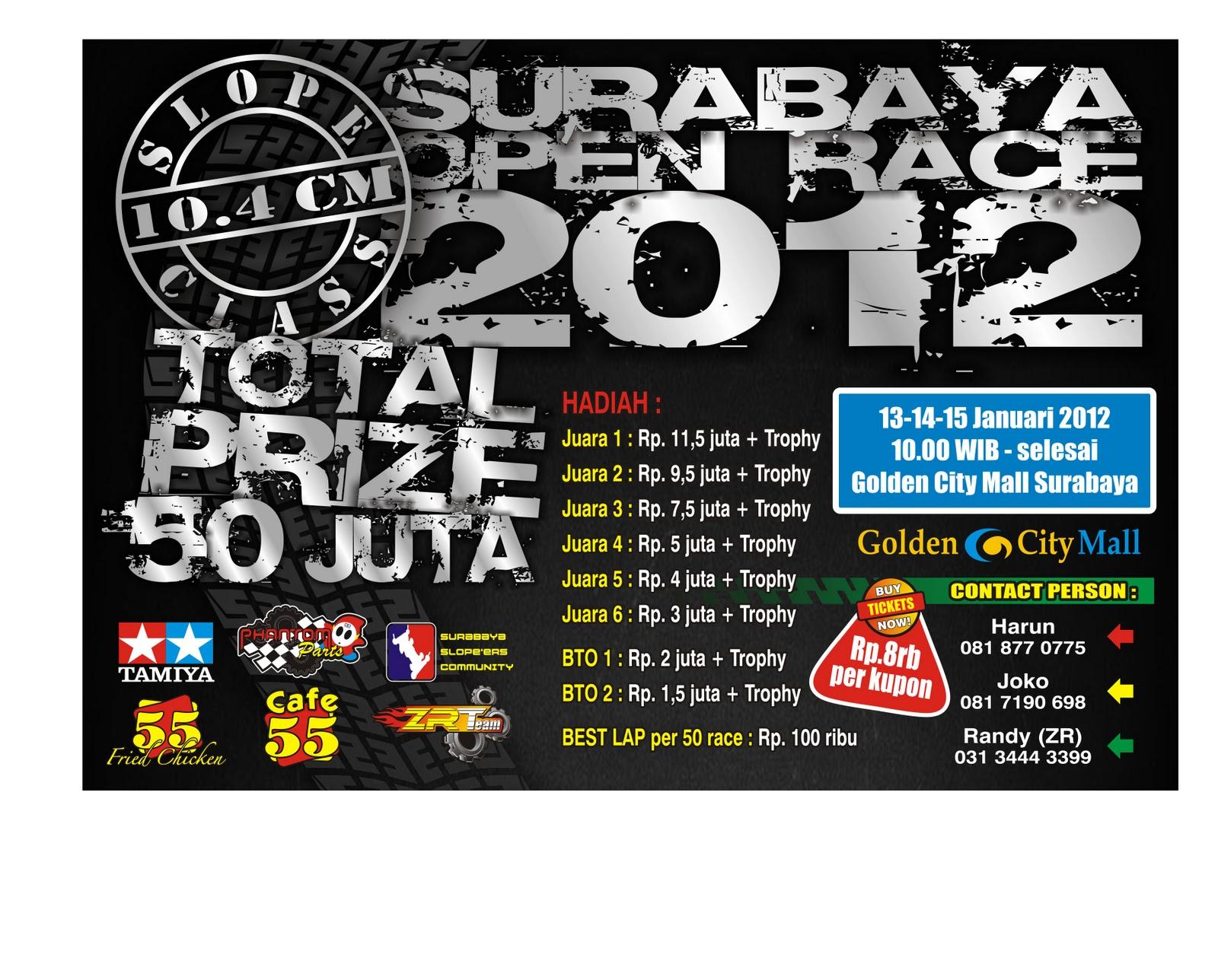 KEJUARAAN NASIONAL SLOOP SURABAYA RACE 2012