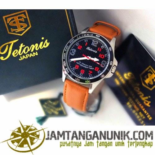 jam tangan berputar terbalik merk tetonis original