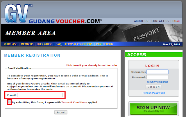 Tutorial Cara Membuat Account Gudang Voucher