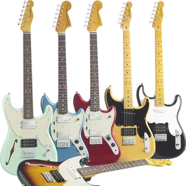 New  Fender Pawn Shop Guitars