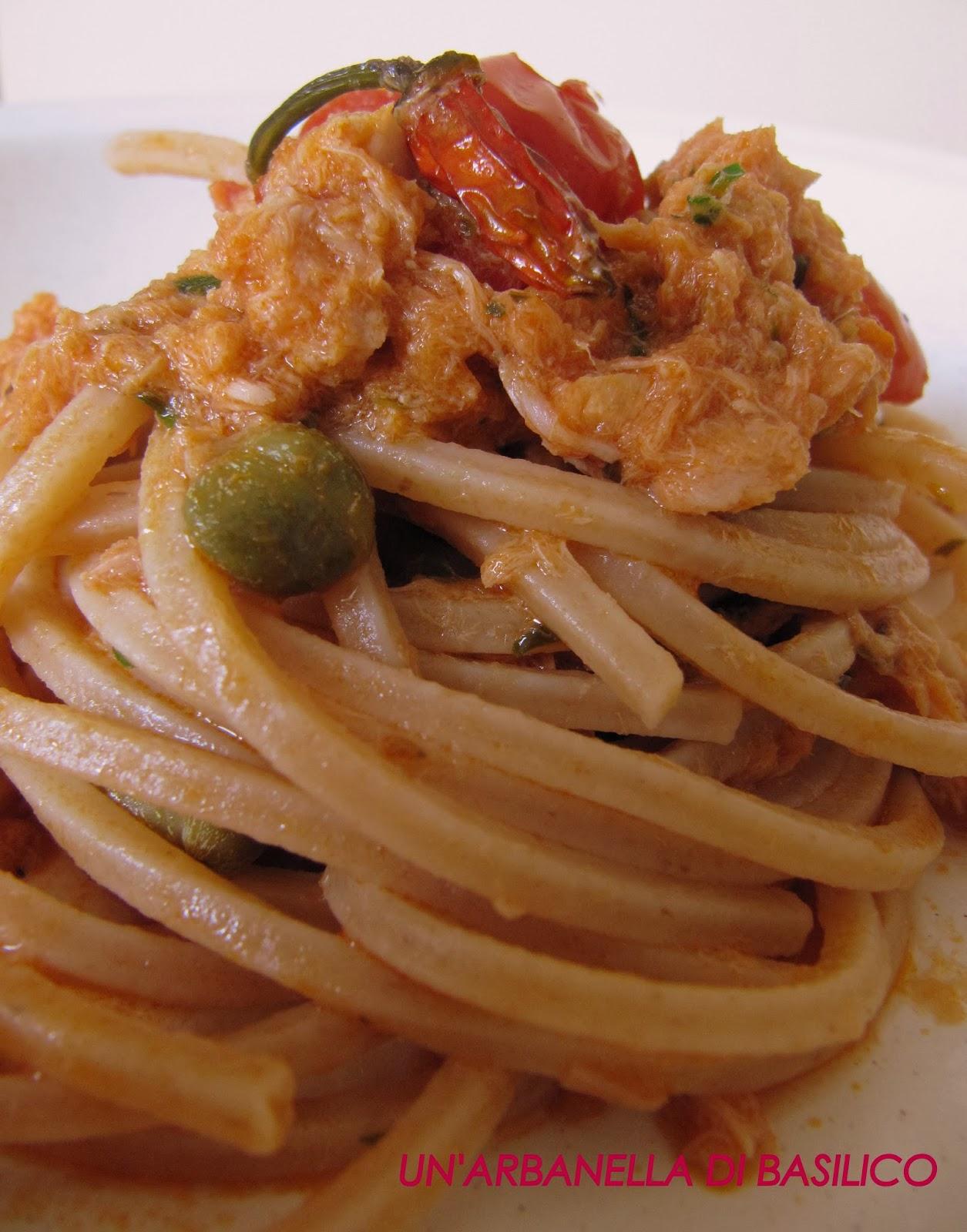 Un 39 arbanella di basilico le ricette con la pasta per light tasty for Ricette per pasta