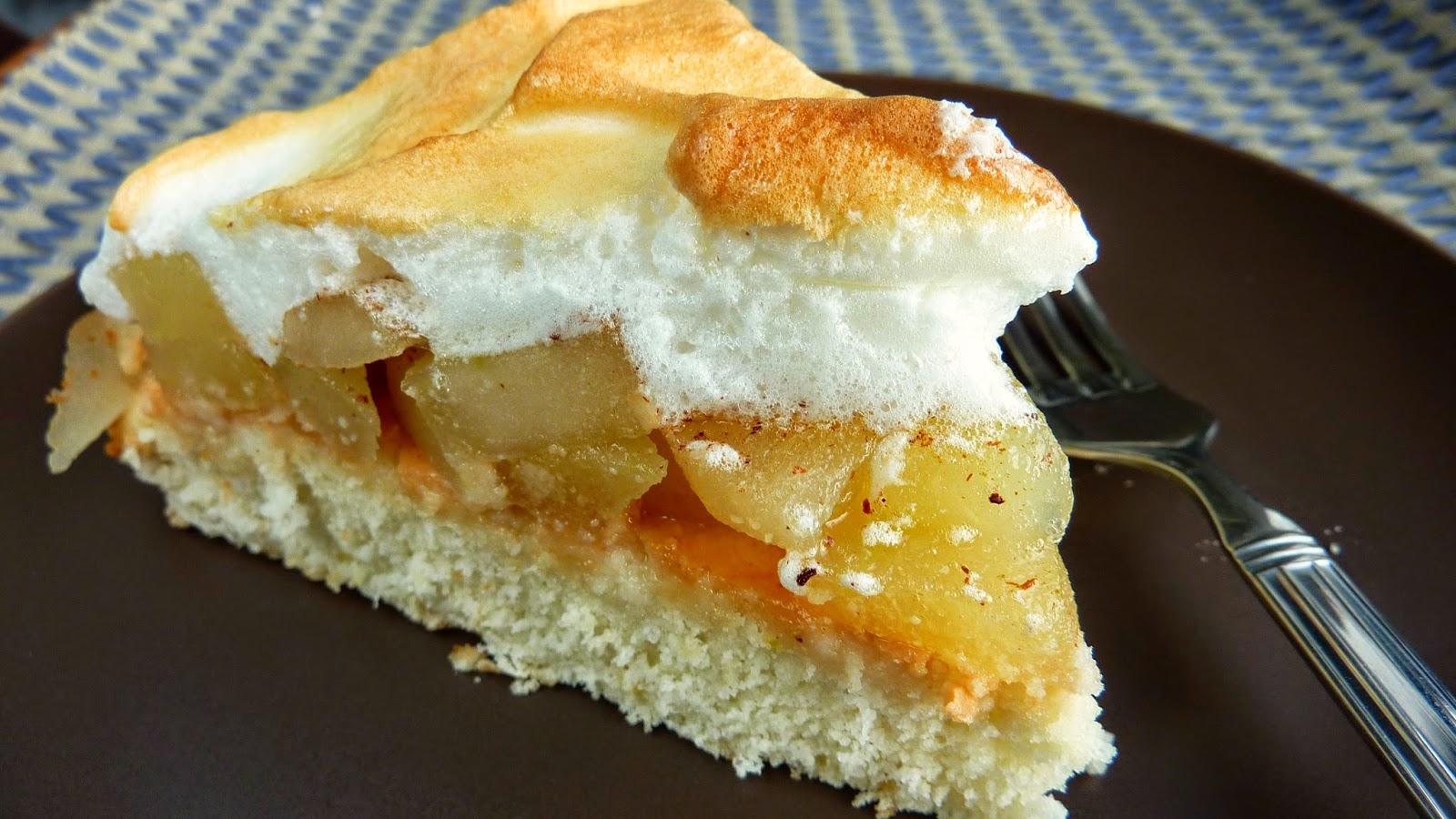 pay de manzana sin gluten y sin lacteos