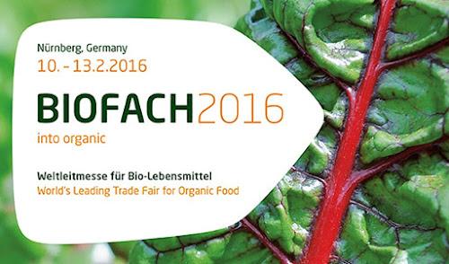 Em Fevereiro de 2016 acontecerá na Alemanha a Biofach - a maior feira de orgânicos do mundo