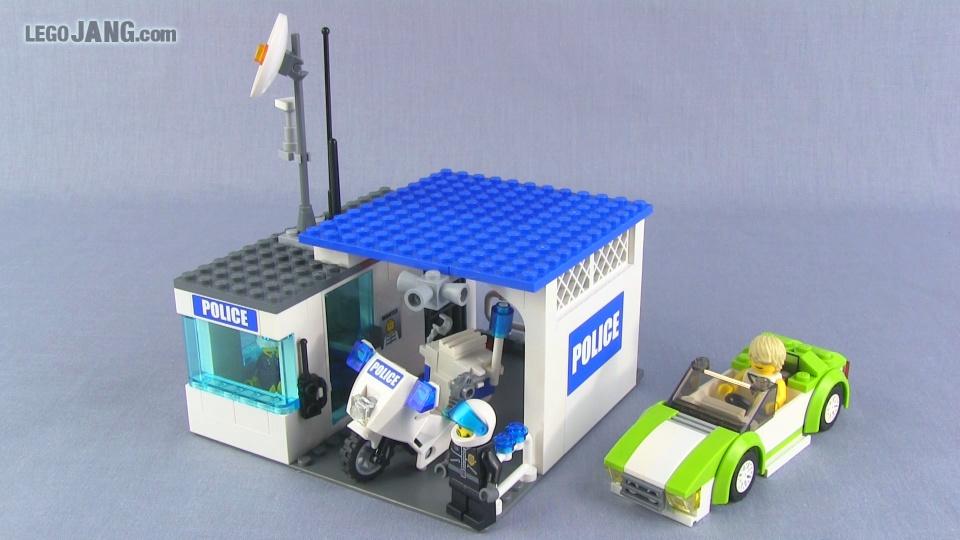 New Lego Mocs Police Kiosk Grocery Store Sports Car