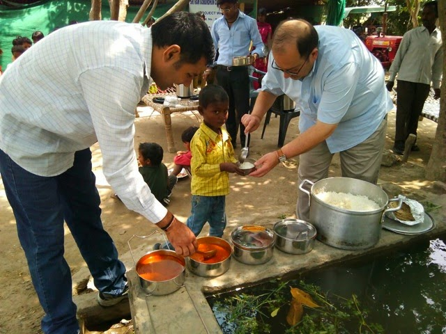The Yamuna Project, the al fresco dining and a little about giving