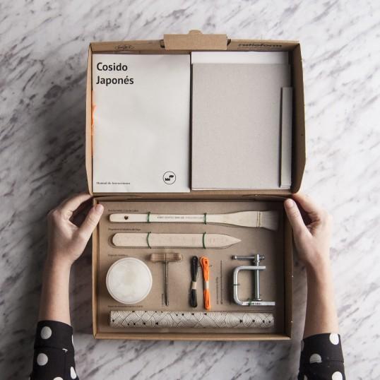 Kit cosido japonés de Fábrica de Texturas