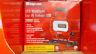 Snap-On LED Worklight 2000 Lumens for when you work in the garage or backyard