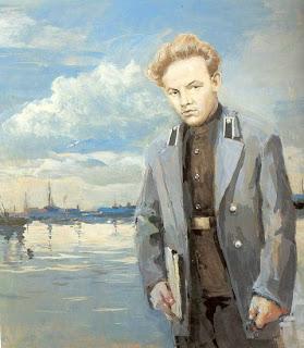 Ocho pinturas sobre Lenin en vísperas del aniversario de su muerte  Vladimir+Ulyanov.+nalbandian
