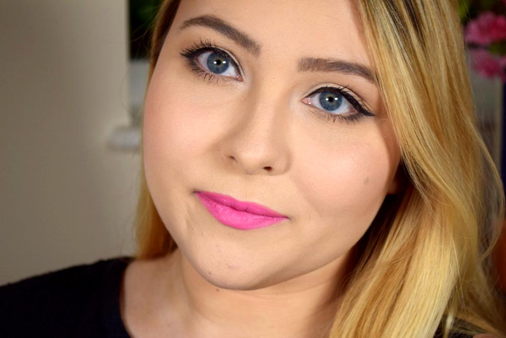 MAC Candy Yum Yum - bright pink lips