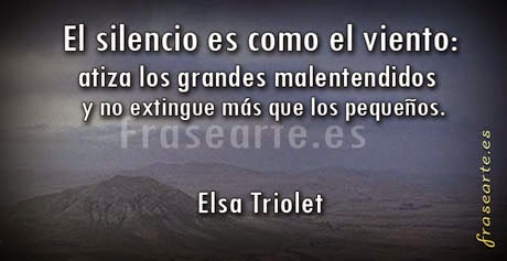 Frases famosas de Elsa Triolet
