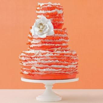 интересна торта с цвете