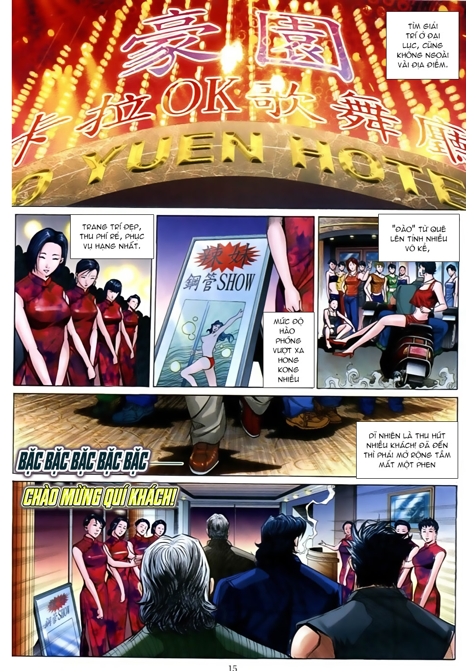 Người Trong Giang Hồ Chap 598 - Truyen.Chap.VN