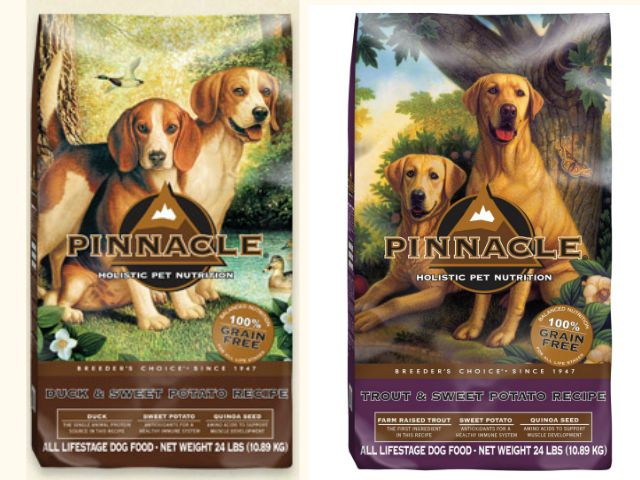 Pinnacle Pet Food is made with quality, holistic ingredients to keep your dog healthy