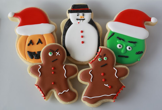 Halloween Christmas Cookies