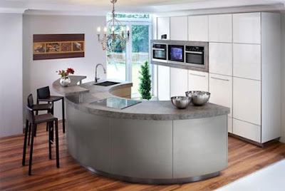 contemporary kitchen design and ideas with u-shaped island