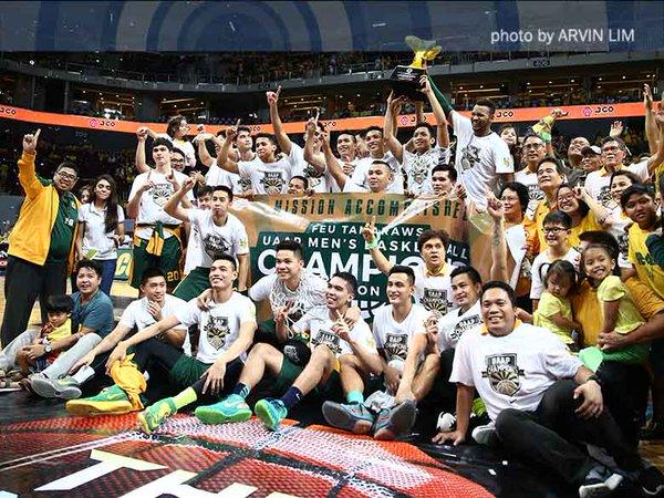 Image: FEU: UAAP Season 78 men's basketball champions