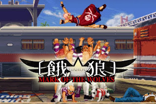 Screenshots of the Garou Mark of the wolves for Android tablet, phone.