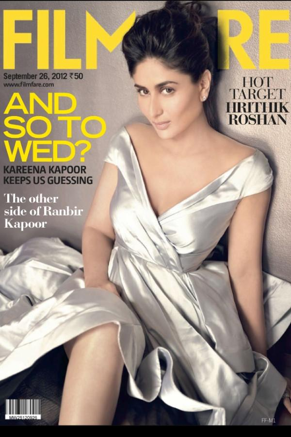 Kareena Kapoor Filmfare September 2012 magazine
