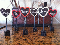 Mini Valentines Chalkboards