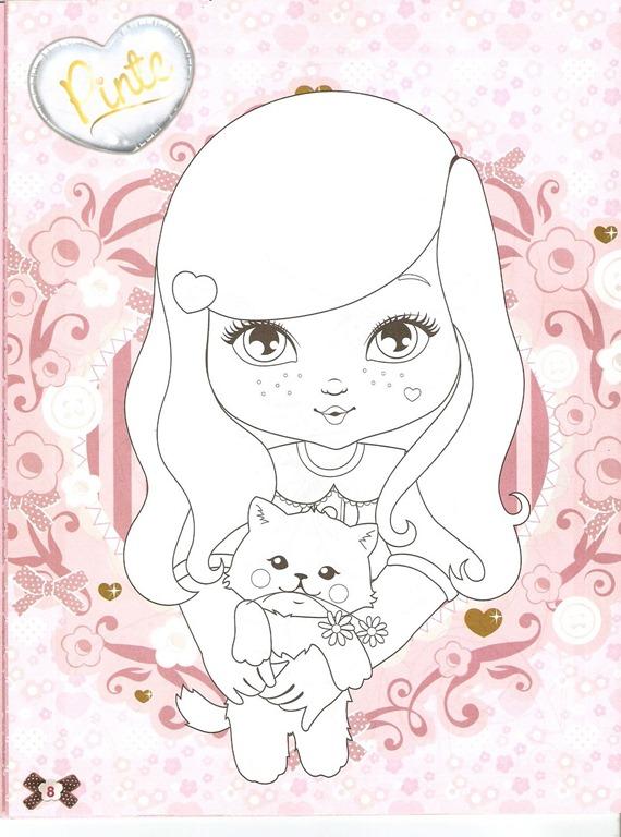 Desenhos da Jolie Tilibra para colorir bem bonito - imagens para colorir jolie