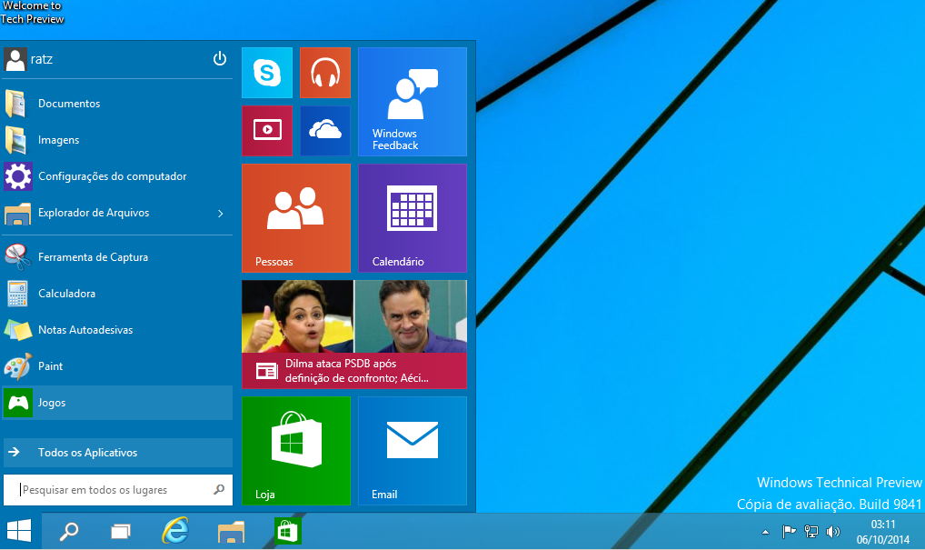 1 - Download Windows 10 Oficial 2015 pt Português