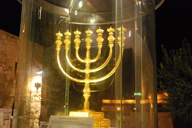 Menorah, Candelabro judeu com 7 braços, candelabro do tabernaculo