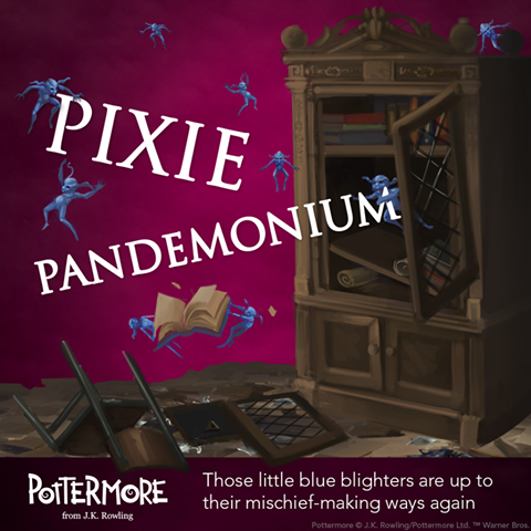 Ingredienti e galeoni sparsi dai Pixie in Pottermore