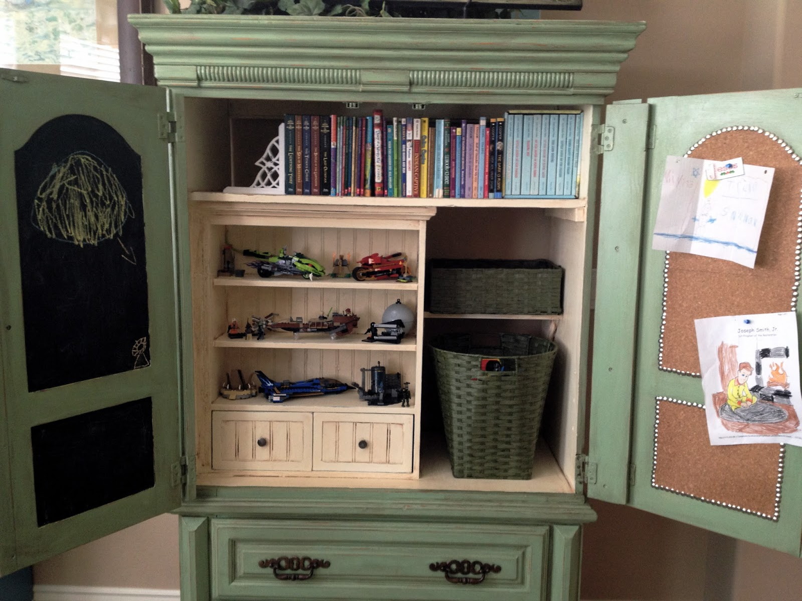 And Thats How I Repurposed My Armoire