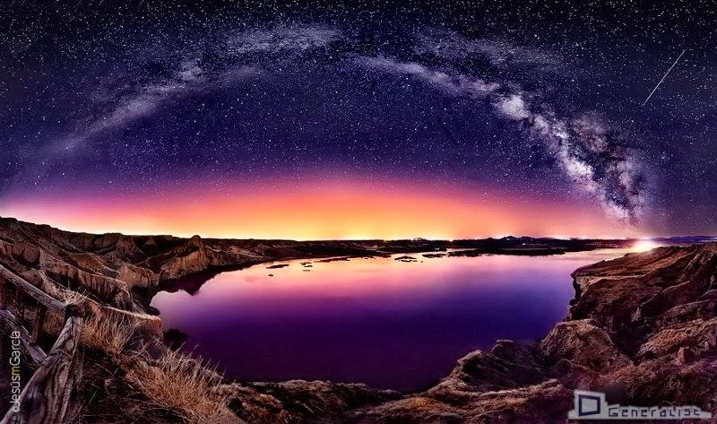 Milky Way over Las Barrancas