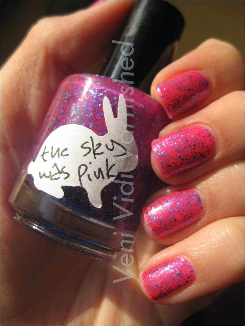 Hare The Sky Was Pink Where's Summer B? Collection Nail Polish