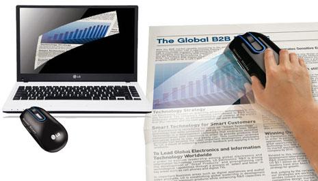 LG mouse scanner