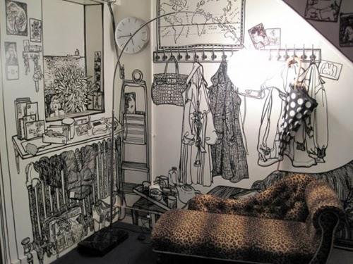01-Artist-Charlotte-Mann-Draw-on-Walls-www-designstack-co