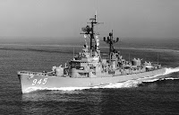 Forrest Sherman class destroyer