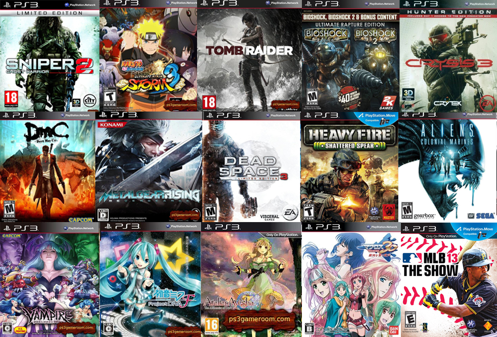 Trick Dan Cheat GamePs3 Games List 2013
