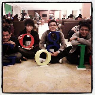 G (Fauzi Online) O (Rico) g (Yudha) l (Heru)  Google Day Jakarta 27/9/2012