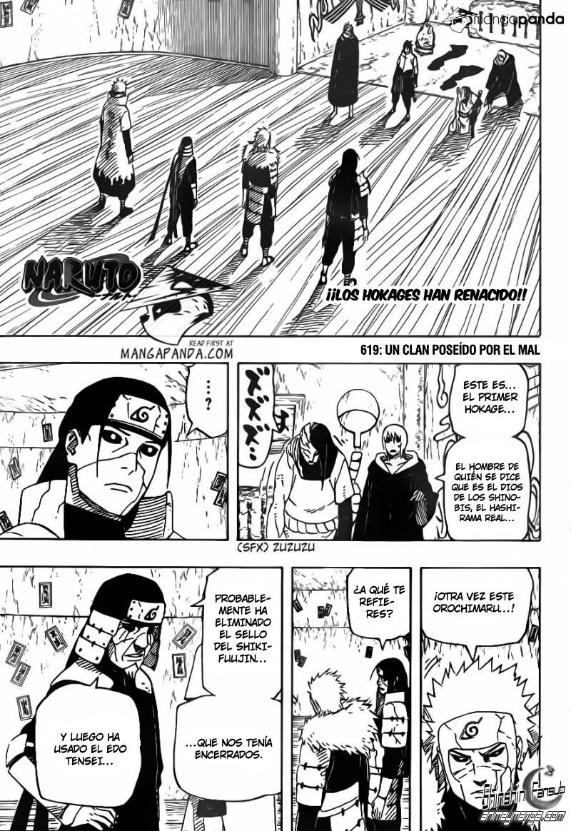 NSM 619 Naruto Shippuden Manga 619
