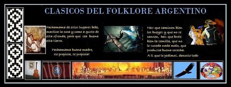 CLASICOS DEL FOLKLORE