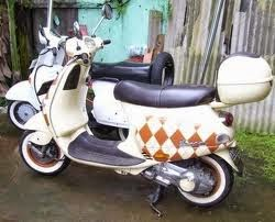 vespa modification image