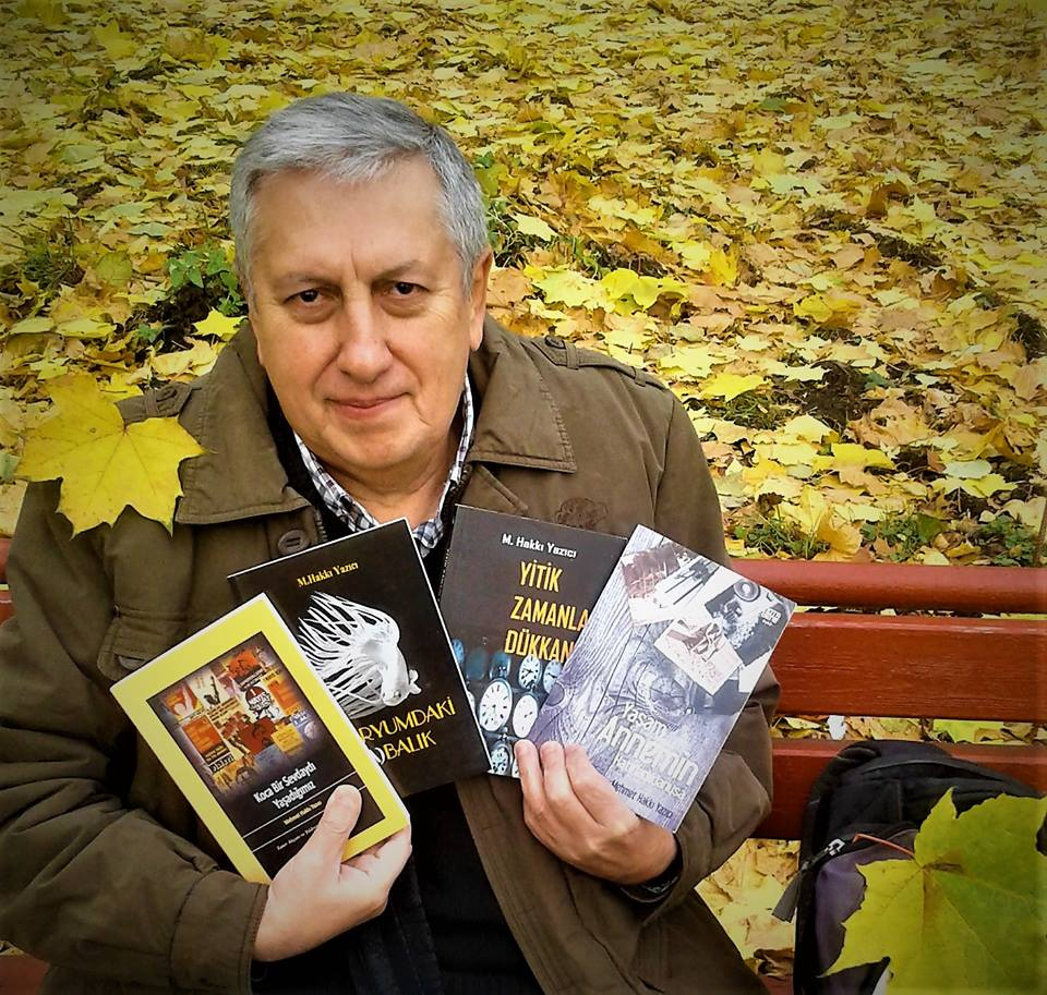 Parkta kitaplarımla