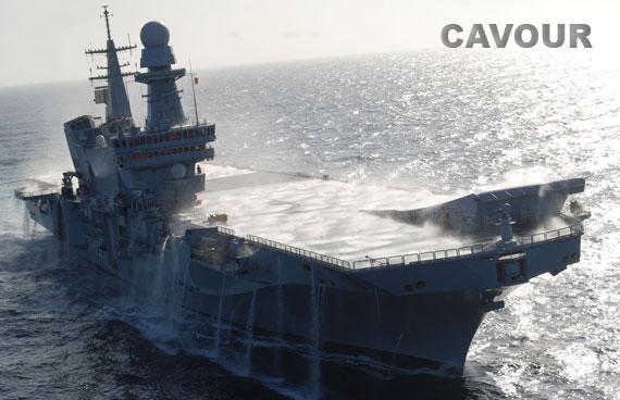 Sanremo buongiorno nave cavour ad augusta - Cavour portaerei ...